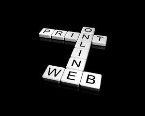 Online, Web, Print
