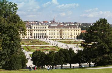 Schönbrunn Palace and garden vienna
