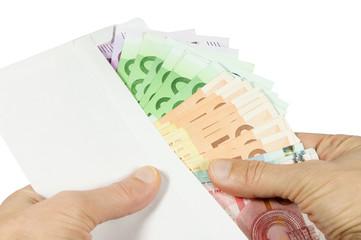 Geldscheinzählen