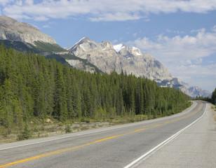 Rocky Mountains, Transcanada highway, Canada