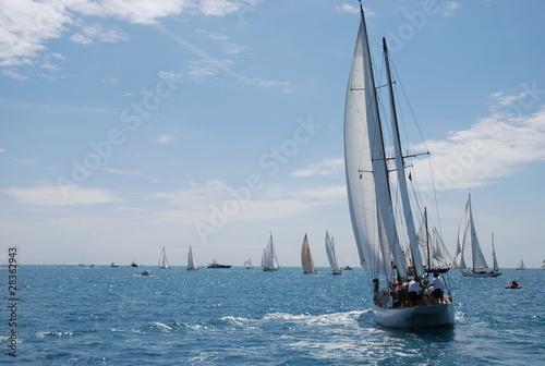 classic yacht regatta - 28362943