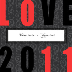 Carte Saint Valentin 2011 Love