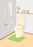 Fototapety 清潔トイレ