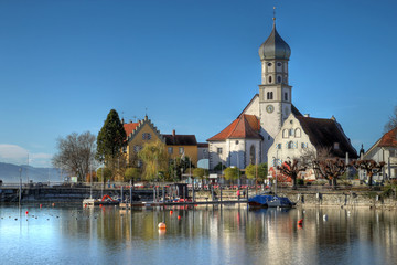 Wasserburg on Bodensee, Germany