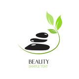 Fototapety Logo spa. Beauty farm # vector