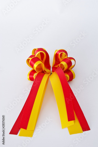 Gift bow attached