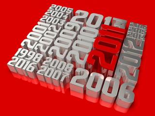 history of 3d 2011 art