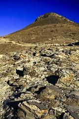 Mountain landscape stone