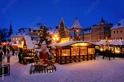 Leinwanddruck Bild Annaberg-Buchholz Weihnachtsmarkt 15