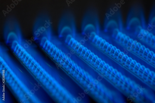 Gas flame - 28389188