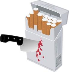 tabaco acuchillado