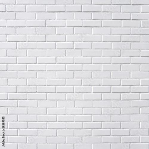 White brick wall - 28389955