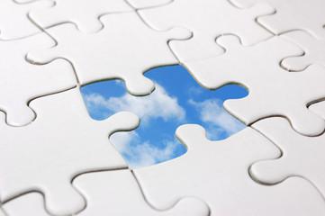 Jigsaw sky