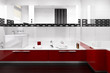 Red accented Bathroom III