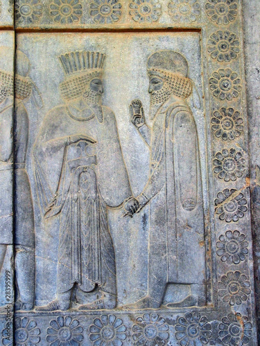 Relief sculpture, Persepolis Iran
