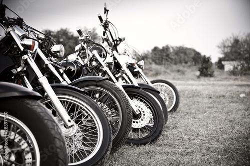 Leinwanddruck Bild Bikes