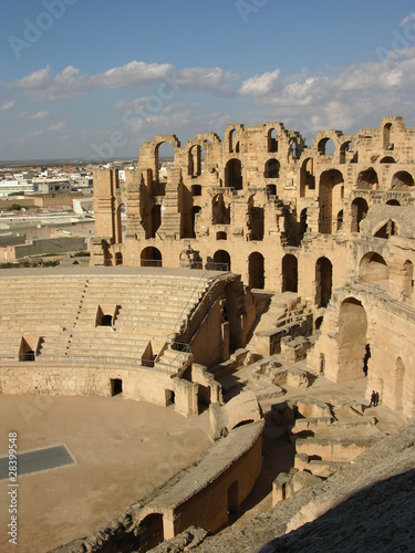 Coliseum in Tunisia