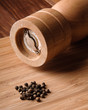 peppercorn and pepper mill