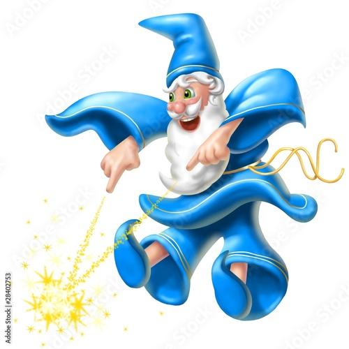 Foto op Canvas Feeën en elfen mago dispettoso