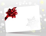 Fototapety biglietto augurale natalizio