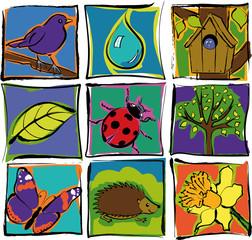 Nature, jardin, environnement, écologie