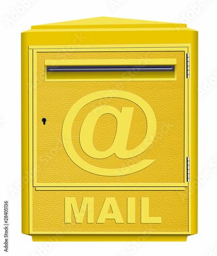 boite mail de photlook photo libre de droits 28405136 sur. Black Bedroom Furniture Sets. Home Design Ideas