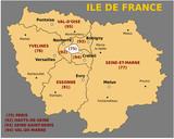 Fototapety Région Ile de France