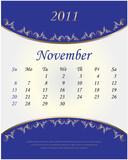 2011 - november poster
