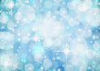 Abstract Winter background.Christmas abstract bokeh