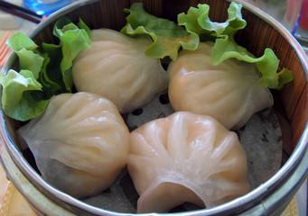 bouchées vapeur asiatiques