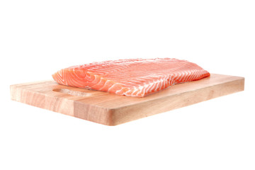 piece of salmon fillet