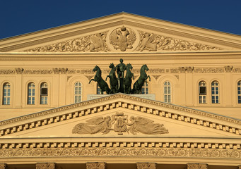 Bolshoi Theatre, Moscow, Russia