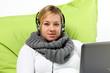 Entspannt Musik hören