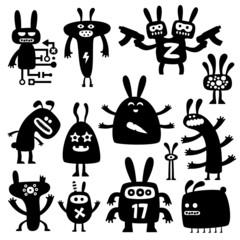 crazy rabbits set05