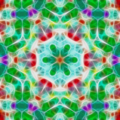 Fractal mosaic background