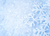 Fototapety Abstract Winter background. Snow
