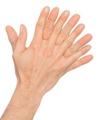 mani incrociate