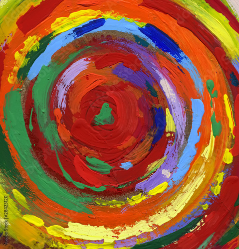 acrylic painting abstract background