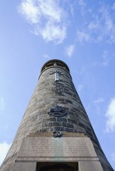 Crich Hill Memorial Tower Nottingham England