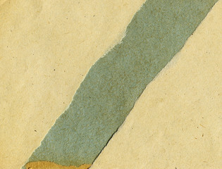 Torn recycled paper
