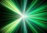 Fototapety Green Rays