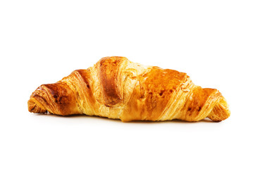 Isolated Croissant