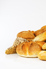 Fresh mixed breads