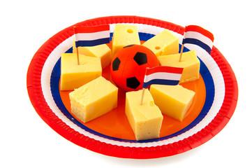 Dutch cheese cubes