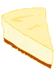 Cheesecake Slice.