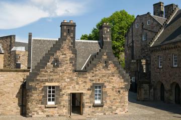 Внутренний дворик Эдинбургского замка