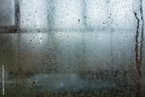 Fototapeta Water drops on window