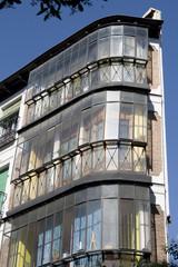 Facade in Lavapies quarter - Madrid