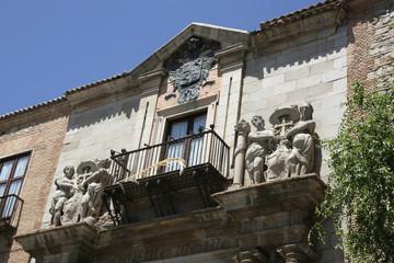 Historic facade in Toledo - Palacio Arzobispal