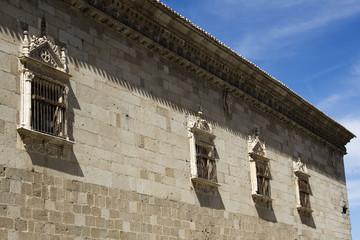 Santa Cruz Museum, renaissance windows - Toledo